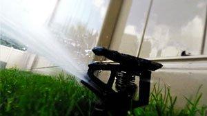 система полива газонов