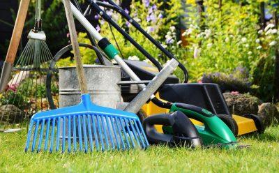 Необходимые инструменты для уходу за газоном