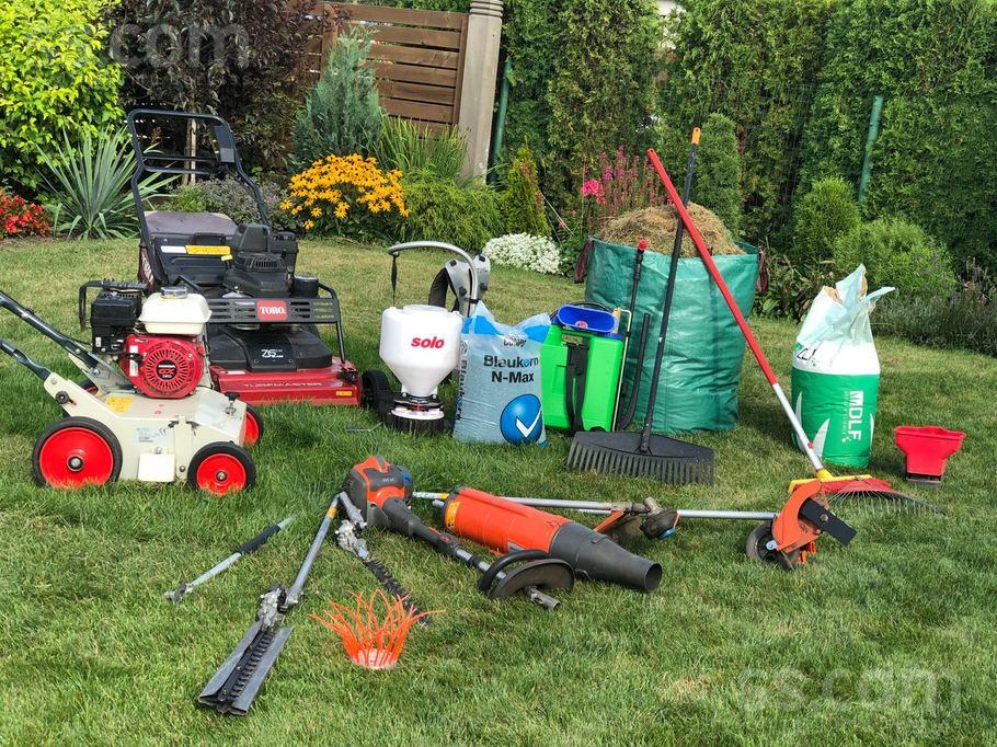Техника для ухода за газоном и садом