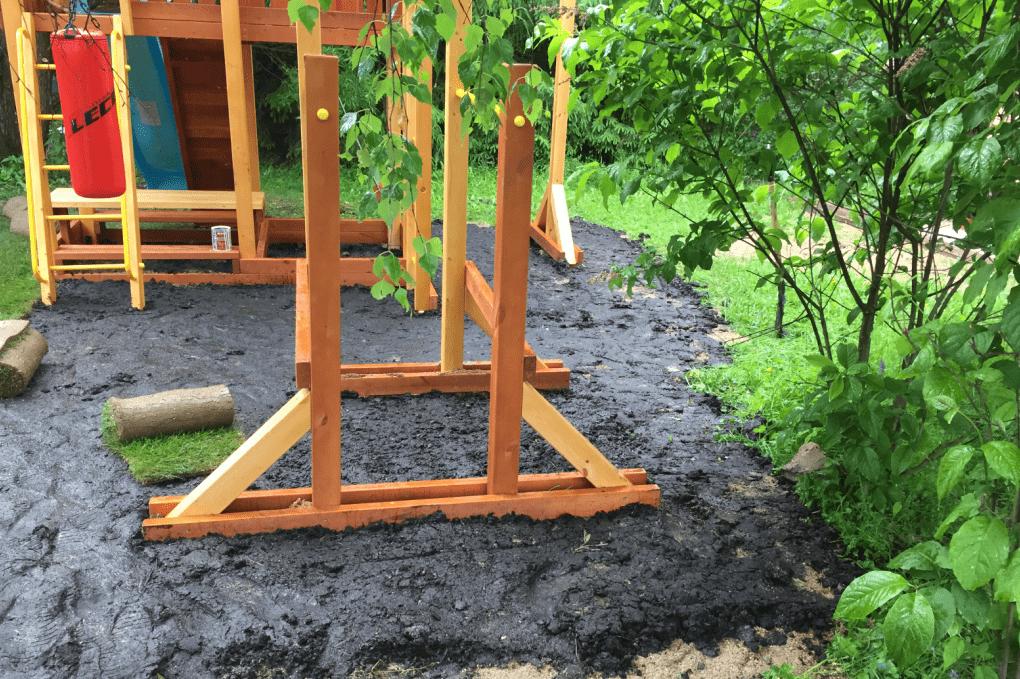 Особенности газона для детских площадок
