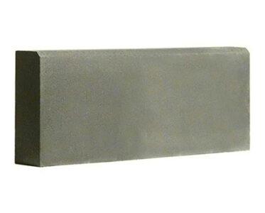 Бордюр-садовый-1000Х200Х80--Серый