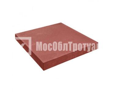 Квадрат Гладкий Красный