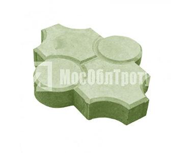 Плитка «Краковский рифленый» Зеленый