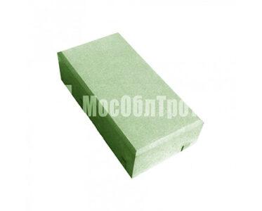 Тротуарная плитка «Кирпич» 45 Зеленый