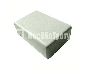 Тротуарная плитка «Одинарный брук» (180Х120Х60) Серый