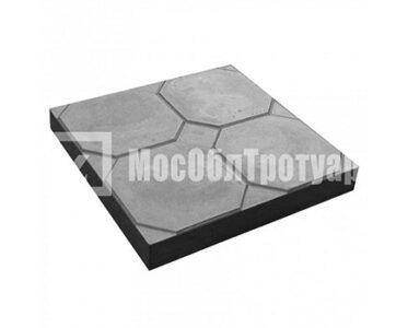 Тротуарная плитка «Окно» (350Х350Х50) Черный