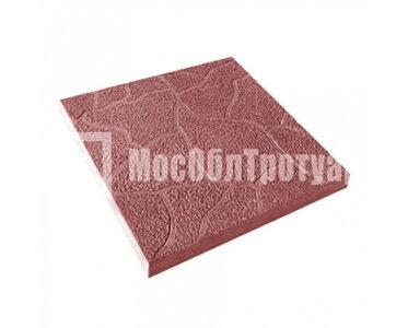 Тротуарная плитка Тучка 300х300х30 МОТ Красный