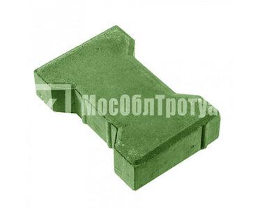Тротуарная плитка «Вибропрессованная катушка» Зеленый