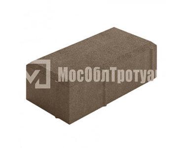 Тротуарная плитка «Вибропрессованный кирпич» Коричневый