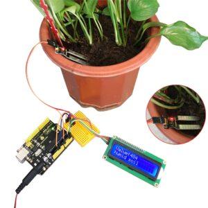 Автополив растений на плате