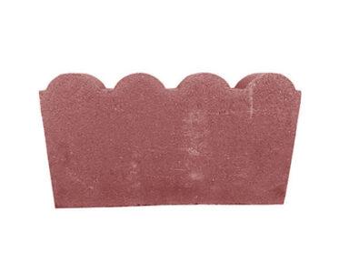 Бордюр «Крепость» Красный