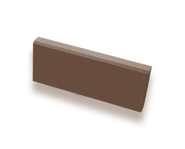 Бордюр садовый тонкий Темно-коричневый