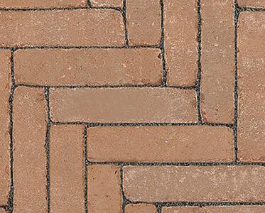 Клинкерная брусчатка «NOSTALGIE» Светло-коричнеывый