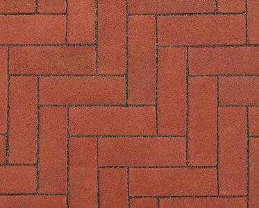 Клинкерная брусчатка «VANDERSANDEN» Красный