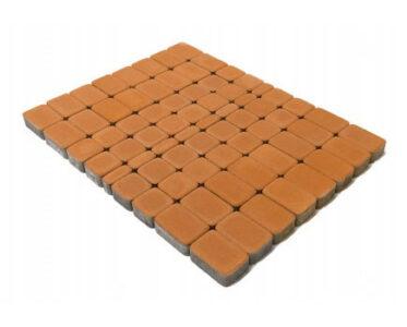 Тротуарная плитка «Классико» Персиковый