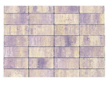 Тротуарная плитка «Прямоугольник» Смешанный цвет