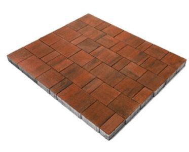 Тротуарная плитка «Старый город Ландхаус» Оранжевый