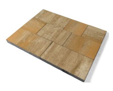 Тротуарная плитка «Триада» Хром