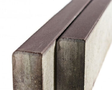 Тротуарный бордюр «Двухслойный» Темно-коричневый