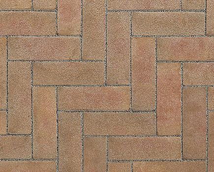Клинкерная брусчатка «VANDERSANDEN» Светло-коричневый