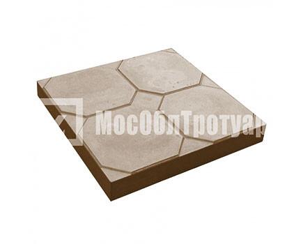 Тротуарная плитка «Окно» (350Х350Х50) Коричневый