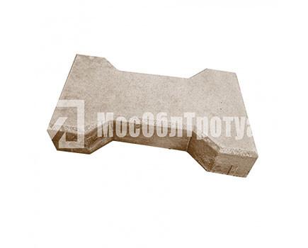 Плитка тротуарная «Катушка» Коричневый