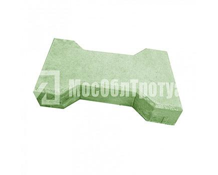 Плитка тротуарная «Катушка» Зеленый