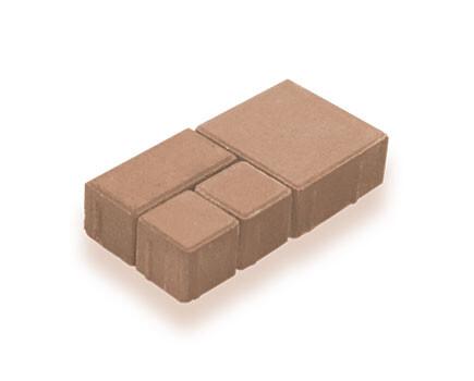 Брусчатка модульная С-коричневый