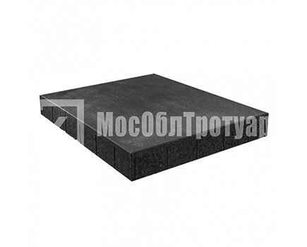 Плитка «Квадрат вибропресcованный» Черный
