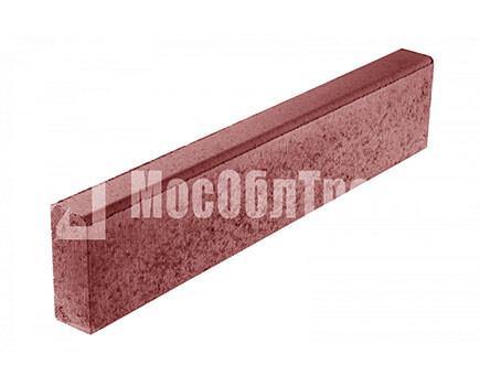 Бордюрный камень «Бортовой БР» Красный