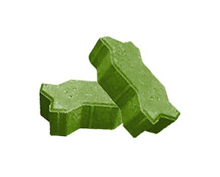 Брусчатка Волна Зеленый