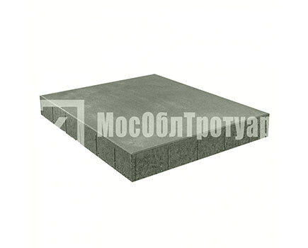 Плитка «Квадрат вибропресcованный» Серый