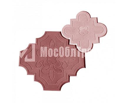 Плитка «Краковский клевер» Гжелка Красный