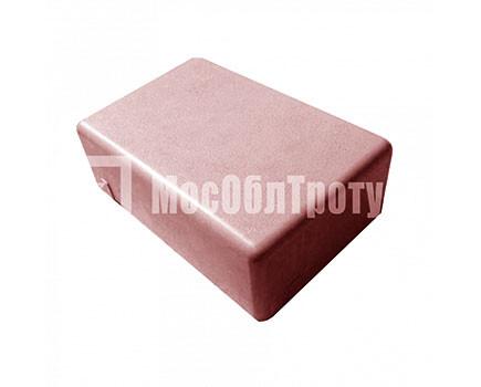 Тротуарная плитка «Одинарный брук» (180Х120Х60) Красный