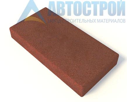 Плитка для тротуара Красный