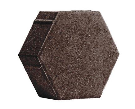 ШЕСТИГРАННИК-230Х197Х80-Темно-коричневый