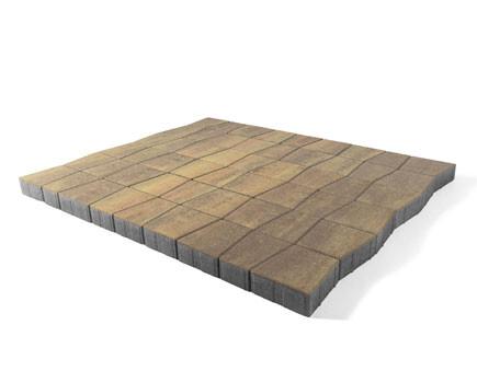 Тротуарная плитка «Старый город Веймар» С-коричневый