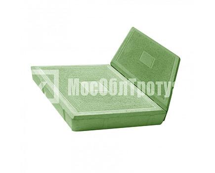Тротуарная плитка «Ромб» Зеленый