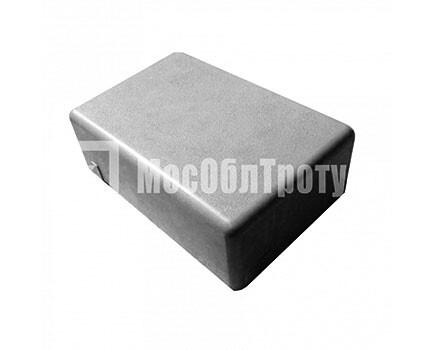 Тротуарная плитка «Одинарный брук» (180Х120Х60) Черный
