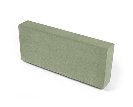 Камень тротуарный «Бортовой» зеленый