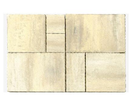 Тротуарная плитка «Патио» Белый