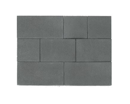 Тротуарная плитка «Триада» Серый