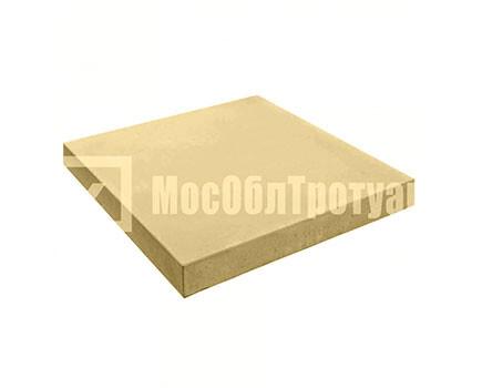 Квадрат Гладкий 300x300x40 Желтый