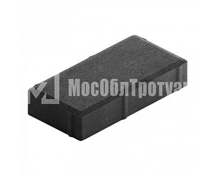 Плитка тротуара «Вибропрессованный кирпич» Черный