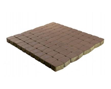 Тротуарная плитка «Классико круговая» Темно-коричневый