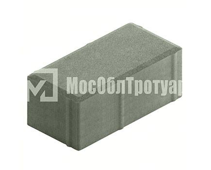 Плитка «Вибропрессованный кирпич» Серый