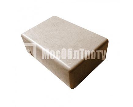 Тротуарная плитка «Одинарный брук» (180Х120Х60) Коричневый