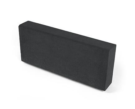 Камень тротуарный «Бортовой» черный