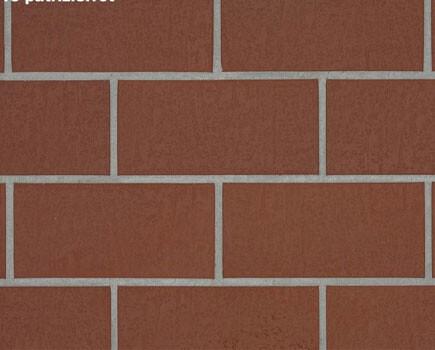 Тротуарная плитка «SPALTKLINKER» Красный