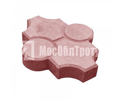 Плитка «Краковский рифленый» Красный